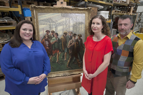 The People S Painters Bbc Two Ni On Sunday 3 February At 10pm Northern Ireland Screen