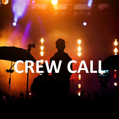Crew call - Theatre and Event workers
